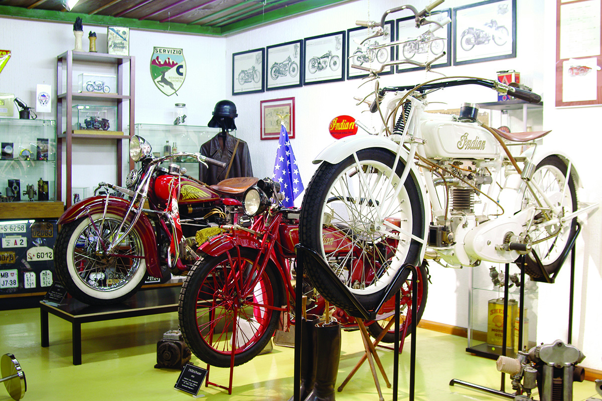 The museum of motorcycles Grom